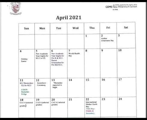 Duke Calendar 2022.Academic Calendar At Nms